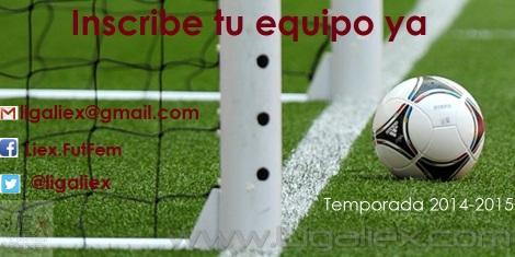 Liex temporada 2014-2015 publicidad Seijas